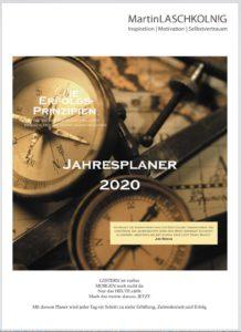 Cover Erfolgsprinzipien Planer 2020